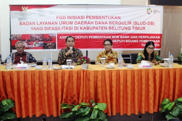 Melalui Dana Bergulir, Pemerintah Janji Bantu Pelaku UKM dan Koperasi di Belitung Timur