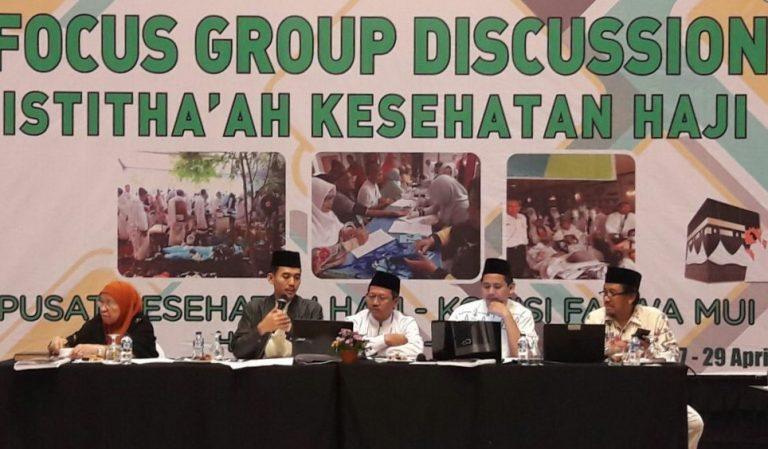 Komisi Fatwa MUI Rumuskan Istitha'ah Kesehatan Haji