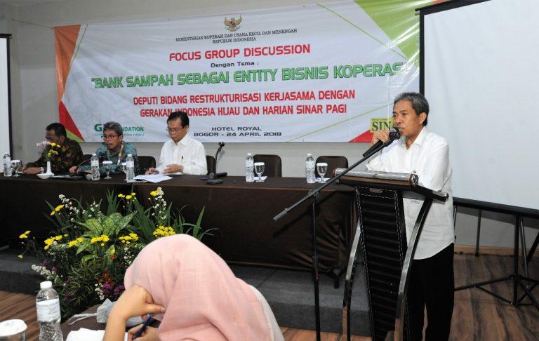 Staf Ahli Menkop UKM: Bisnis Bank Sampah Capai Rp18 Miliar