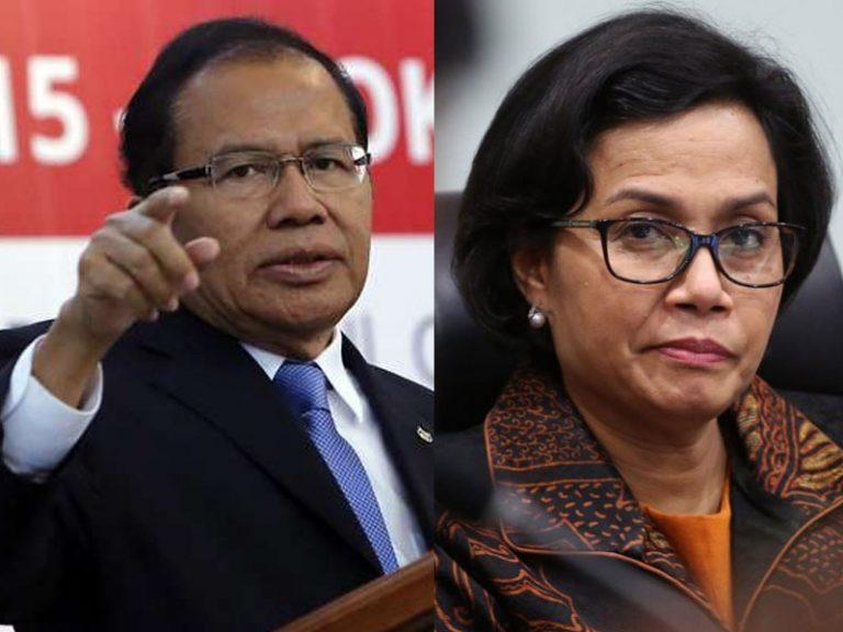Rizal Ramli Terima Tantangan Jokowi Debat dengan Sri Mulyani
