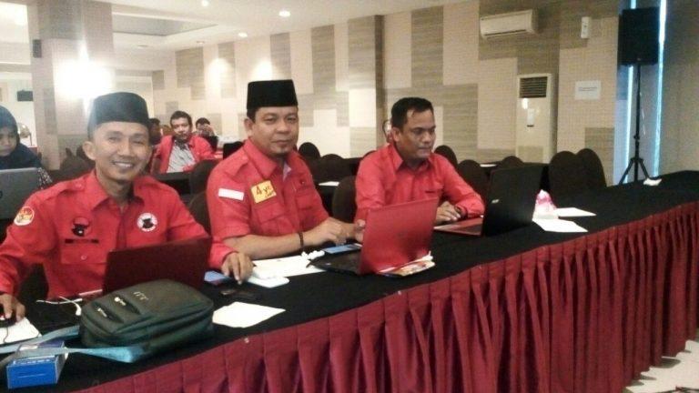 PDIP Uji Kemampuan dan Kualitas 701 Bacaleg se-Riau