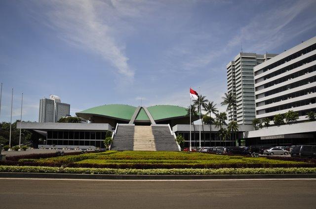 Menteri Kabinet Jokowi Sudah Mulai Hadir di Ruang Sidang Tahunan MPR