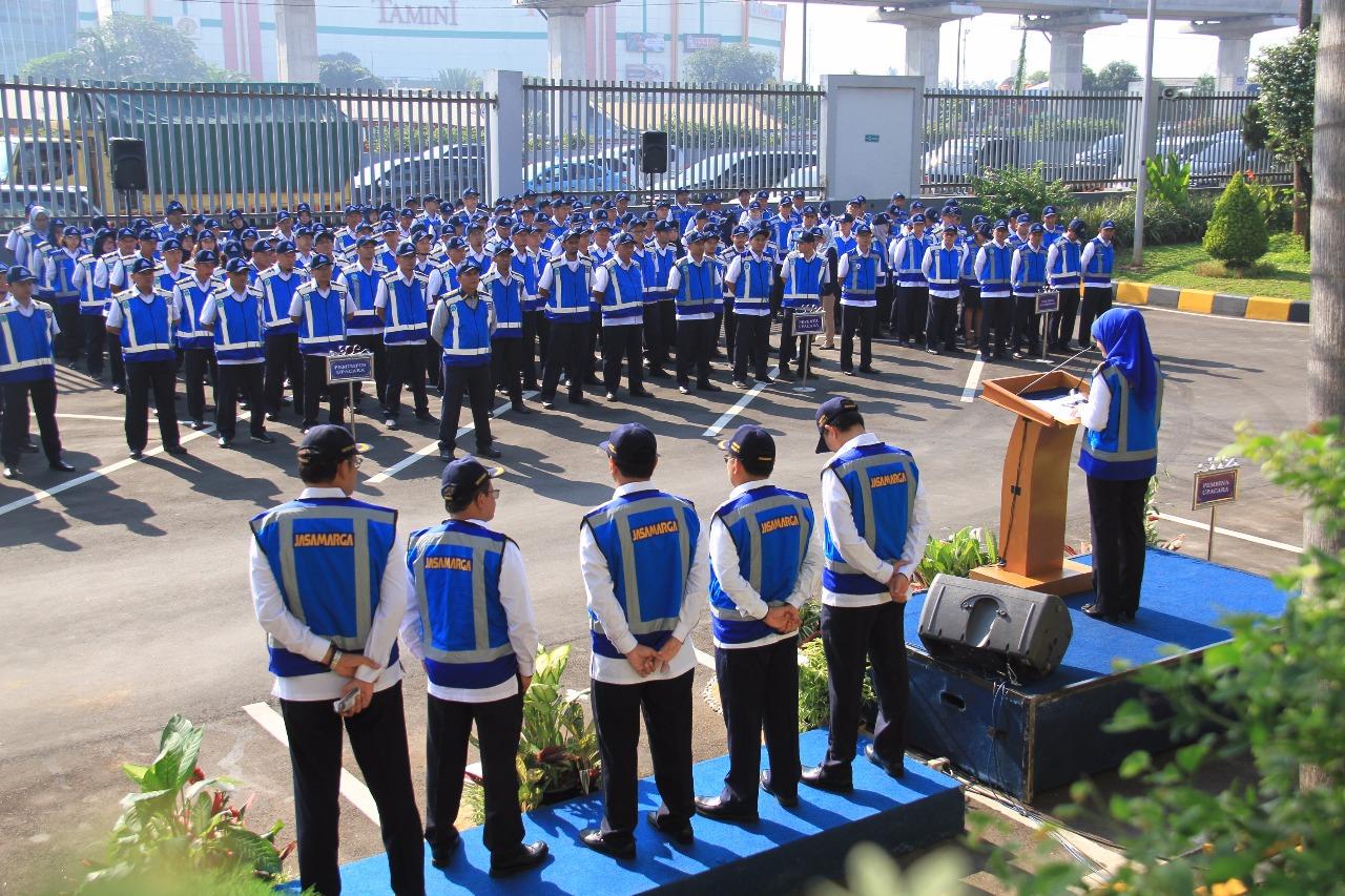 Dirut Jasa Marga pantau kesiapan Tim JM Siaga 2018