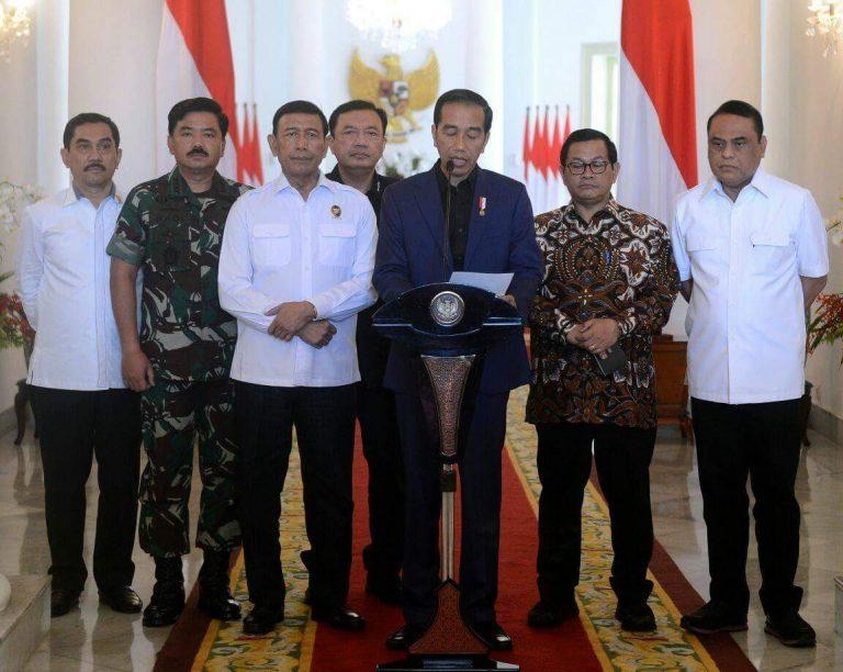 Jokowi: Terorisme Tidak Akan Membuat Rakyat Takut