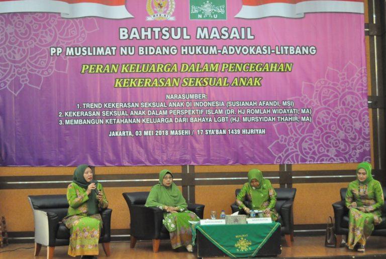 Cegah Kekerasan Seksual Anak, 400 Guru PAUD Muslimat NU Ikuti Bahsul Masail