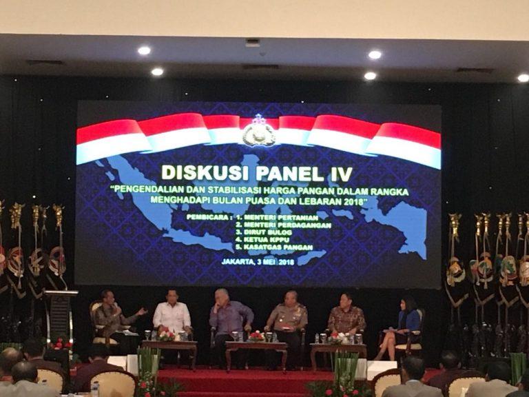 Pemerintah Siap Amankan Ketersediaan dan Stabilisasi Harga Pangan