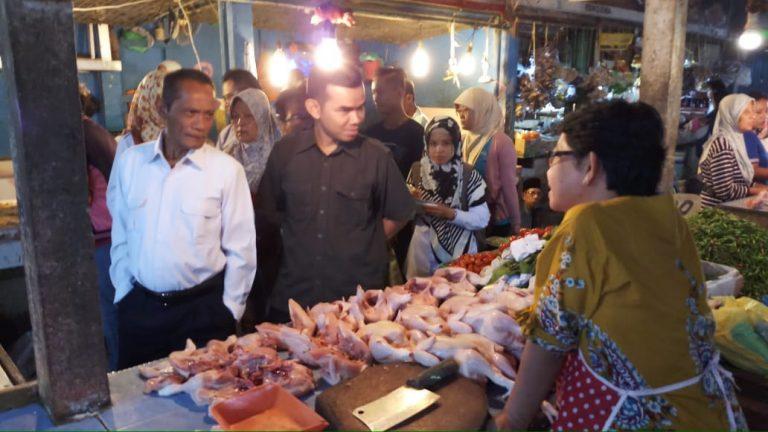 Kementan Sidak ke Pasar Mandiri Sako Perumnas Palembang