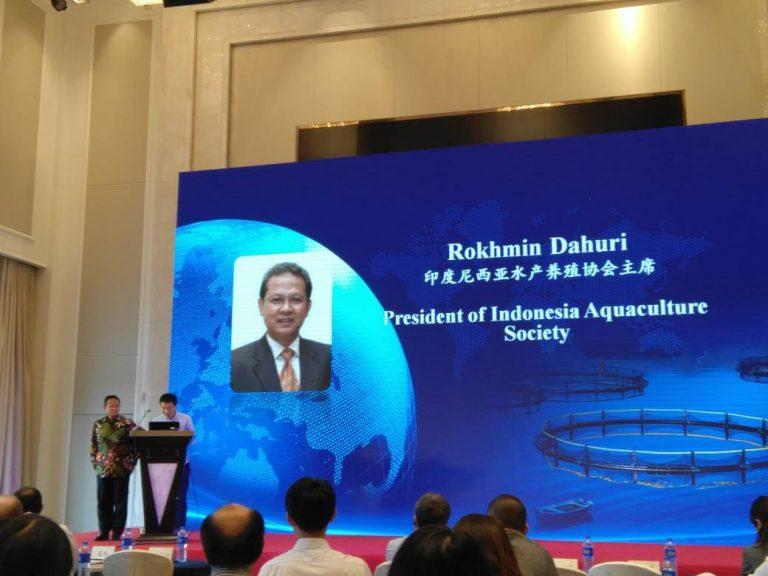 Ketua MAI Paparkan Potensi Akuakultur Indonesia di China
