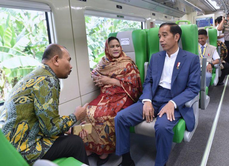 Dijajal Jokowi, KA Minangkabau Ekspres Resmi Beroperasi