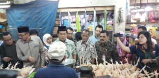 Sidak Pasar Wonokromo