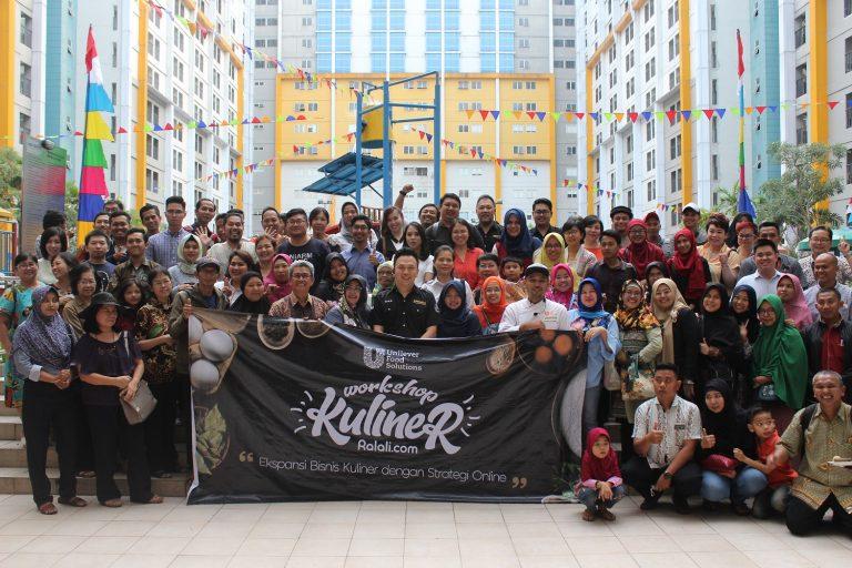 Dukung Pengusaha Kuliner Nusantara, Ralali.com dan Unilever Food Solutions adakan Workshop Kuliner