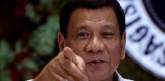 Rodrigo Duterte Photograph: Ezra Acayan/Reuters