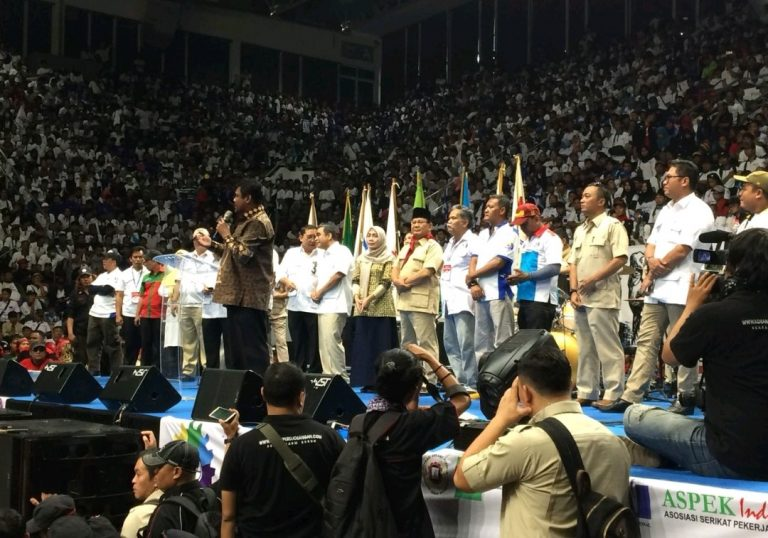 KSPI Bidik Dua Kursi Menteri Jika Prabowo Menang