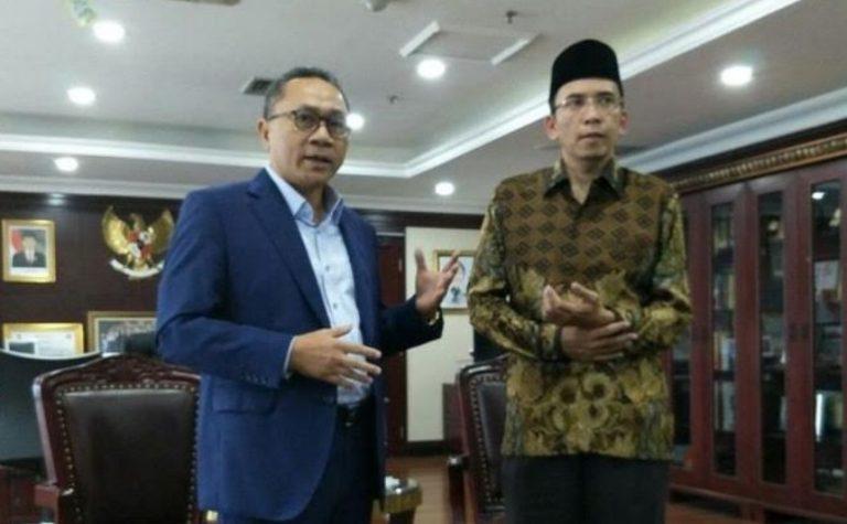 Zulhas Ajak Gubernur NTB Tukar Pikiran Bahas Pemilu Damai