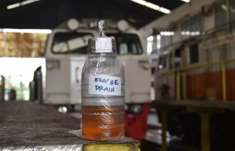 Biodiesel B-20 Dianggap Cocok untuk Mesin Kereta Api