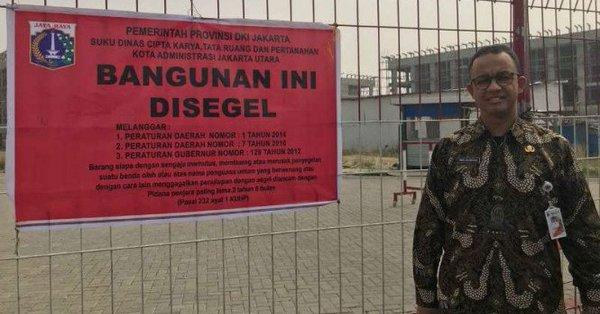 Anies Segel Pulau Reklamasi, Ini Reaksi Luhut Pandjaitan