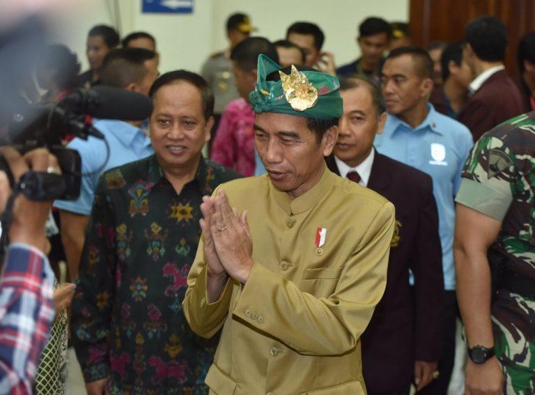 Jokowi : Pembangunan Infrastruktur Bukan Persoalan Fisik dan Ekonomi Semata