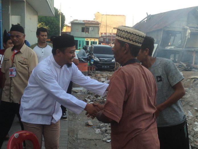 Andi Sudirman Sulaiman belusukan di Maccini Sombala