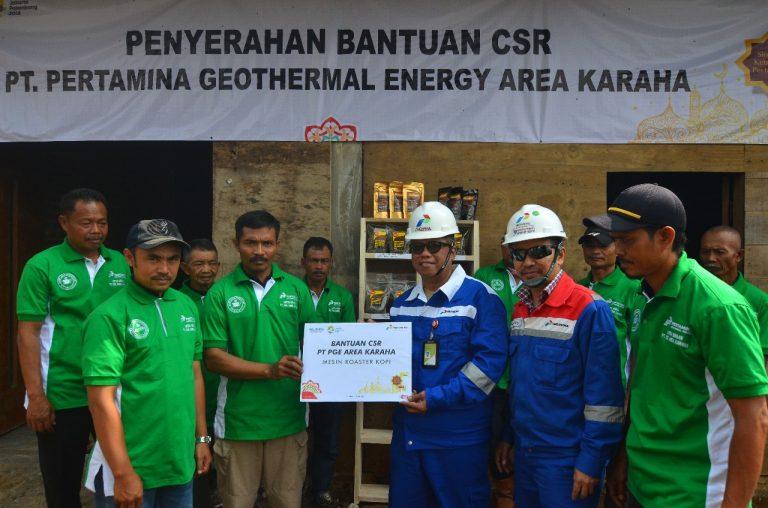PGE Berdayakan Kelompok Tani Kopi Tasikmalaya