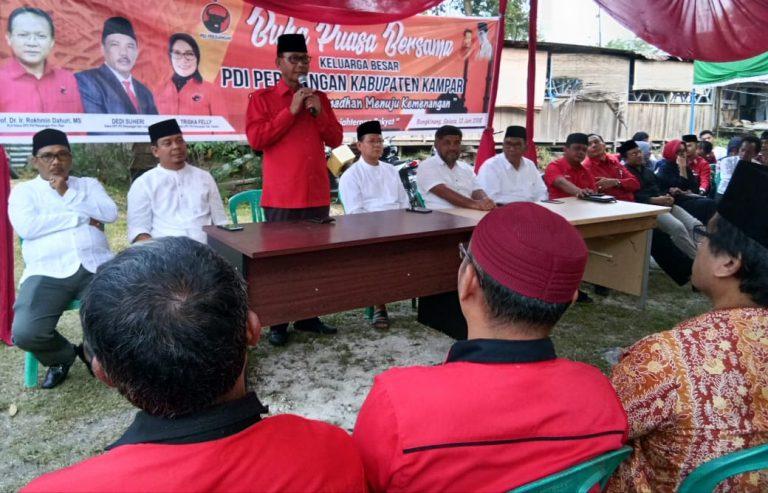 PDIP Riau ajak DPC Kampar Gotong Royong di Pilkada Gubernur