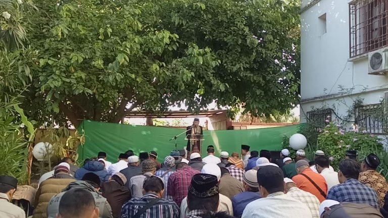 KBRI Alger Gelar Sholat Ied dan Ramah Tamah Bersama Ratusan WNI