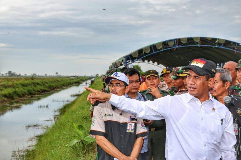 Mentan Genjot Pemanfaatan Lahan Rawa Jelang HPS 2018