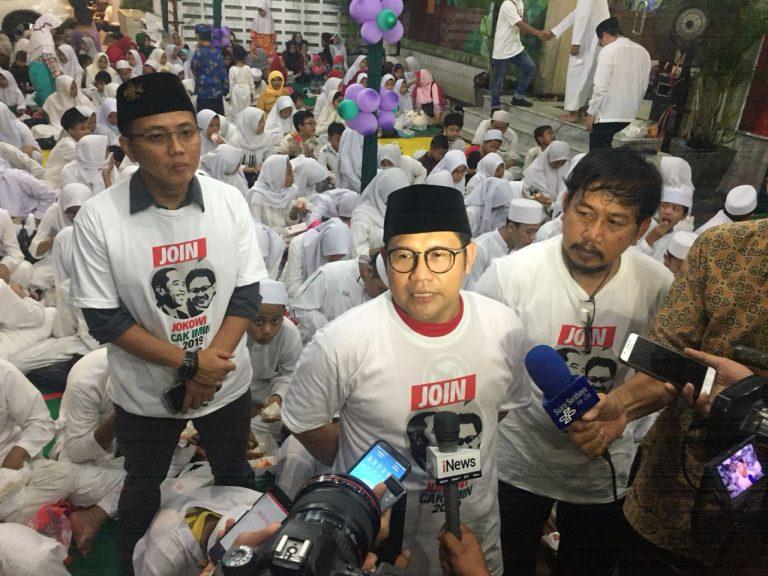 Cak Imin makin pede bakal jadi Cawapres Jokowi