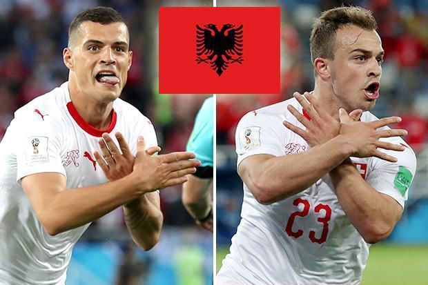 FIFA akan Selidiki Selebrasi Gol Xhaka dan Shaqiri