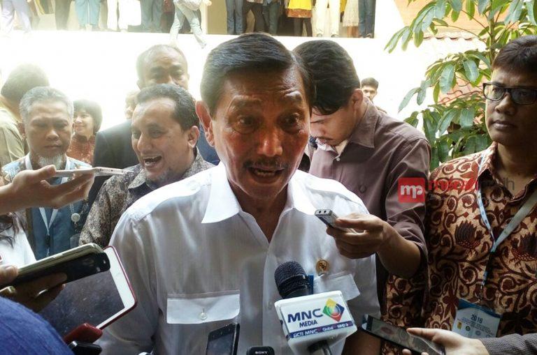 Tarik Minat Investor, Luhut Tekankan Angka Pengangguran Harus Turun