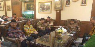 Rombongan Ketua Umum Partai Golkar berkunjung ke Kantor PBNU