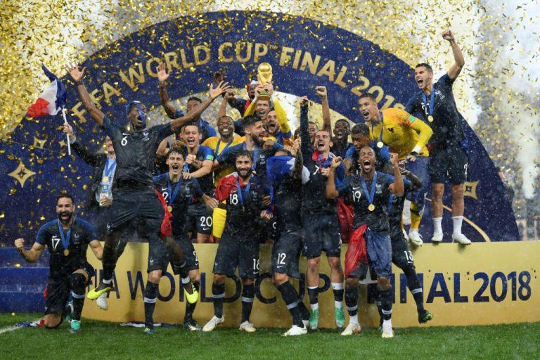 Kapten dan Pelatih Timnas Prancis Piala Dunia 2018 jadi Nama Stasiun