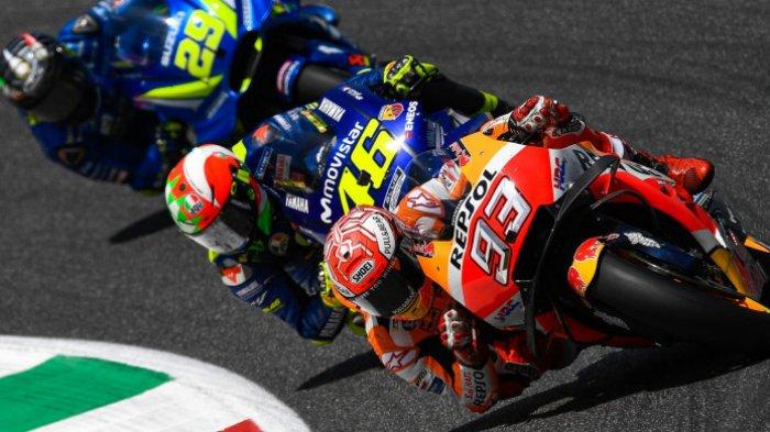 Anggap Sulit Kejar Marquez, Rossi Pilih Revisi Target Juara