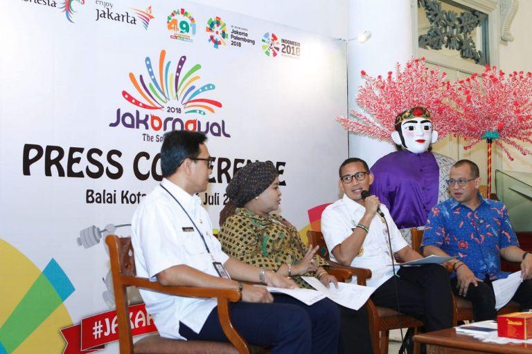 Jakarnaval 2018 Jadi Ajang Semangat Asian Games