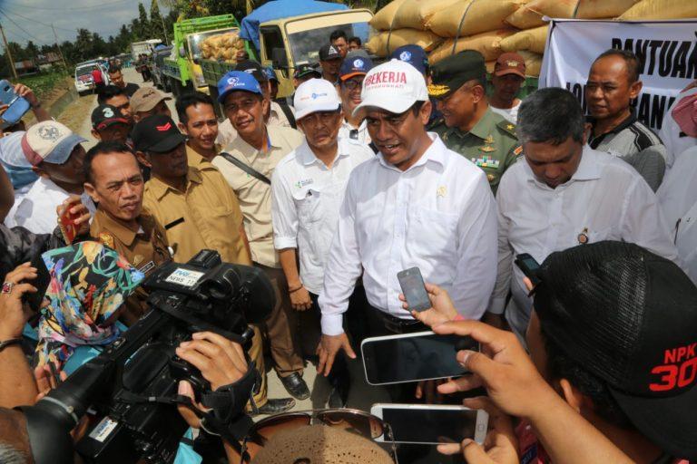 Mentan Koordinasi dengan Menteri PUPR Bahas Solusi Banjir di Kabupaten Wajo