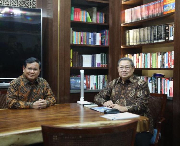 SBY Sebut Koalisi dengan Gerindra Berpeluang Besar