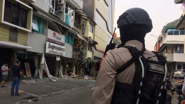 Anies Bersyukur Ledakan di Ruko Grand Wijaya Tidak Memakan Korban