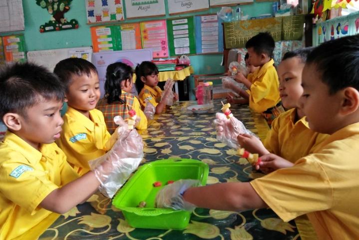 Peran Keluarga dan Lembaga PAUD Dalam mencapai Anak Indonesia GENIUS
