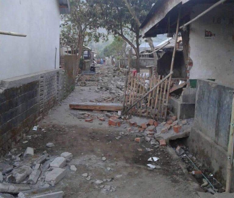 Lombok Utara Kembali Diguncang Gempa
