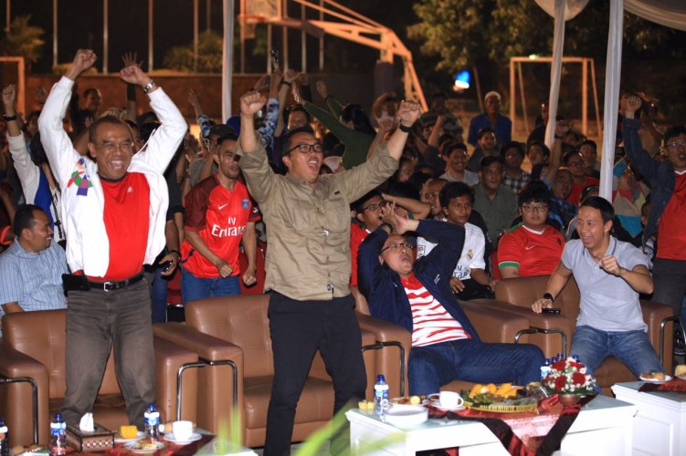 Indonesia Raih Emas ke-12 Asian Games, Begini Ekspresi Menpora