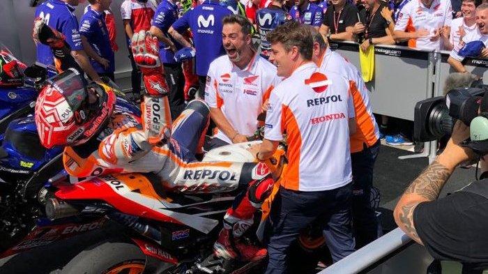9 Kali Juara Beruntun, Marquez Sejajar dengan Legenda MotoGP
