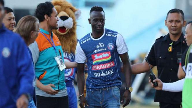 Bersama Arema FC, Makan Konate Akan Permalukan Bekas Klubnya?