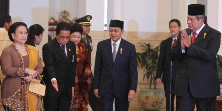 Efek Pilpres 2014, SBY Akui Hubungan dengan Megawati Belum Pulih