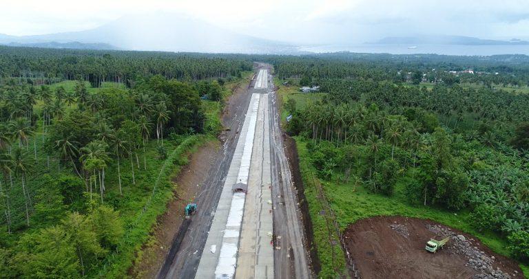 Pembangunan Tol Manado-Bitung Kebut Progress Konstruksi