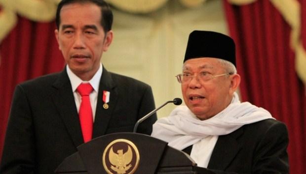 LSI Denny JA: Jokowi-Ma'ruf Unggul Telak di Segmen Pemilih Muslim