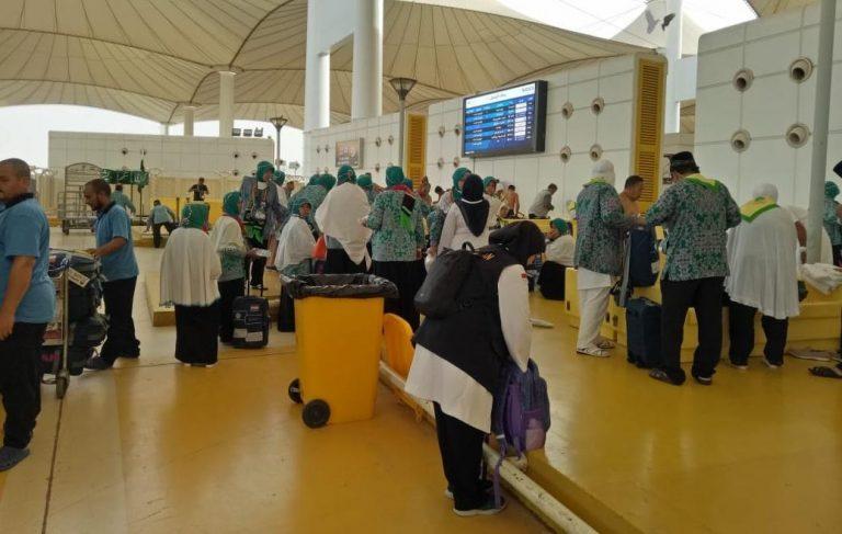 Pemberangkatan Jemaah Haji Embarkasi Lombok Tak Terkendala