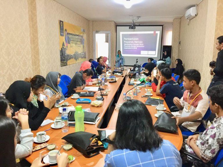 Vokasi UI Gelar Pelatihan Kader Posyandu Remaja