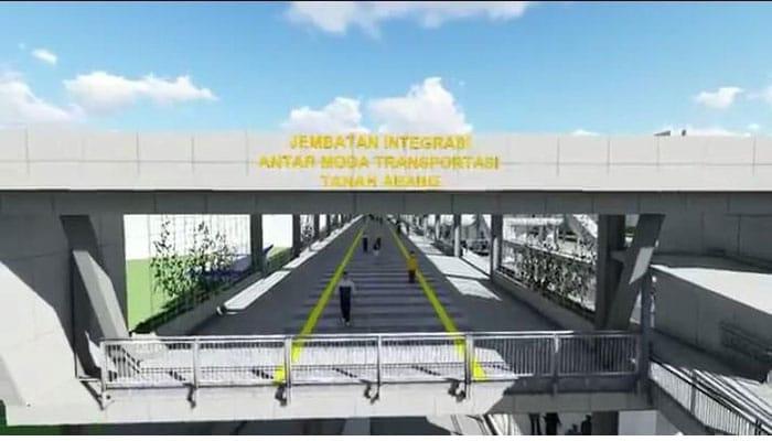 Pemprov DKI: Pembangunan Skybridge Khusus PKL ber-KTP Jakarta
