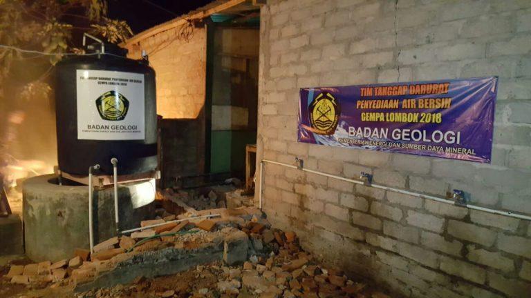 Kementerian ESDM Bantu Suplai Sumur Bor di Dekat Lokasi Pengungsian