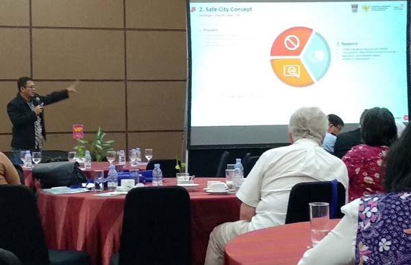 Telkom Tawarkan Konsep Smart City Berbasis Mitigasi Bencana