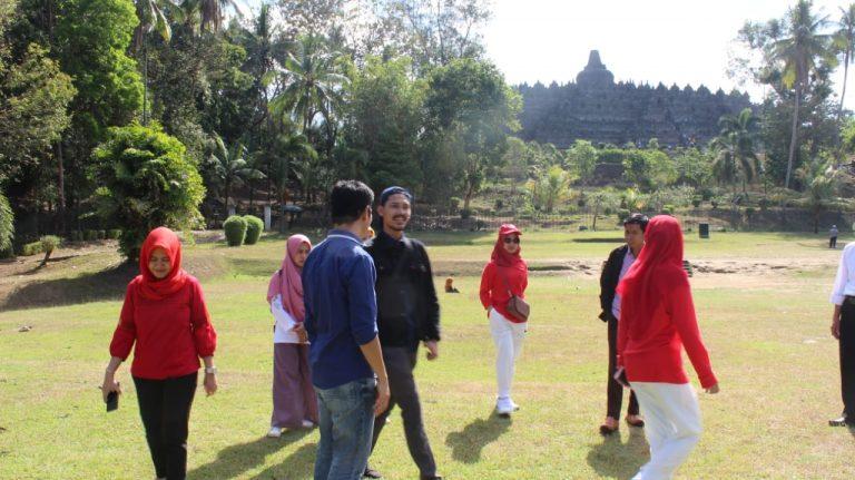 Kementan Kampanye Keajaiban Pangan Lokal ke Wisatawan Candi Borobudur